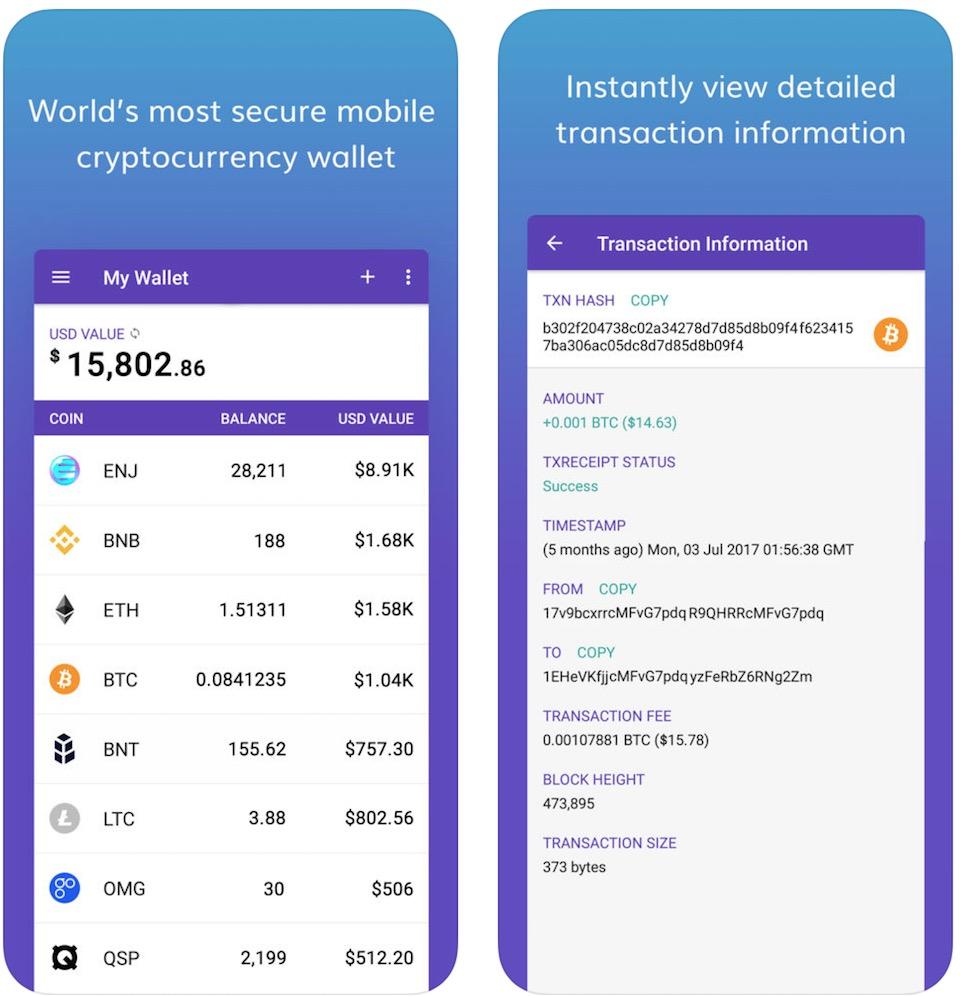 تحميل تطبيقEnjin Crypto