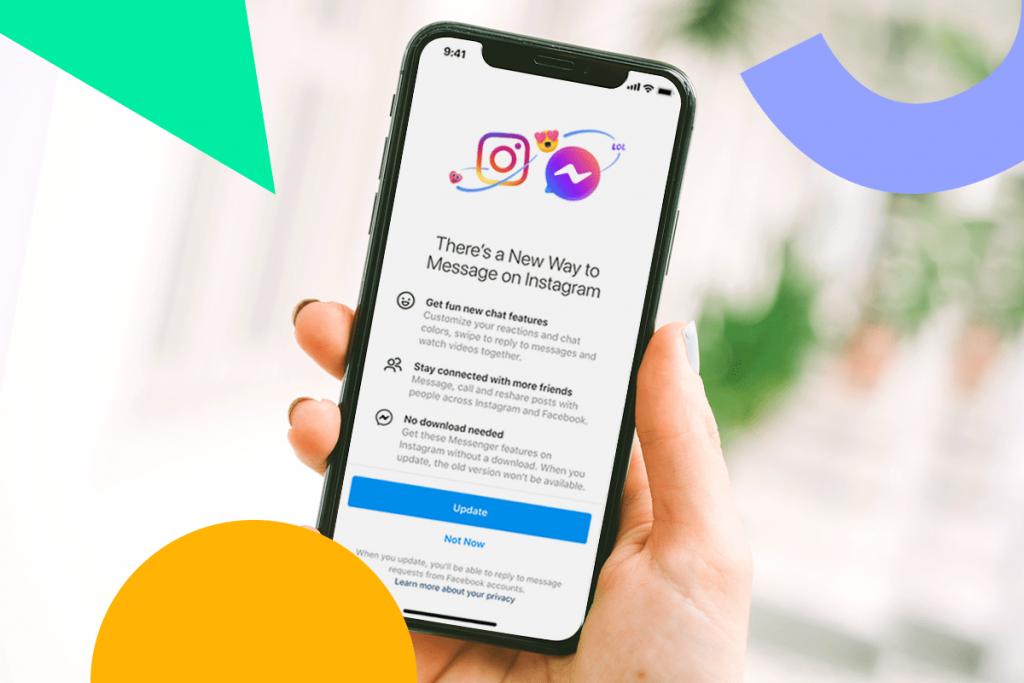 كيفية إضافة مؤثرات خاصة إلى رسائل Instagram